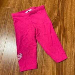 Hot Pink Toddler Leggings | 18M